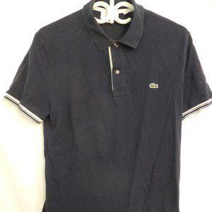 LACOSTE, medium, navy blue polo shirt, BNWOT